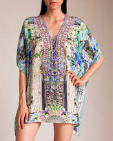Camilla Dear Diary Short Lace-Up Kaftan