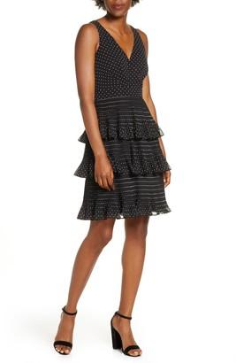 Eliza J Tiered Ruffle Dress
