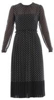 N°21 Women's White/black Silk Dress.