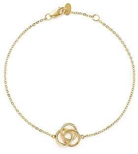 Bloomingdale's 14K Yellow Gold Love Knot Bracelet - 100% Exclusive