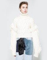 Off-White Cable Knit Sweater
