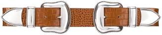 B-Low the Belt Western double buckle belt