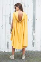 Etsy Yellow Maxi Dress / Asymmetric Summer Dress / Mustard Casual Dress / Long Tunic Dress