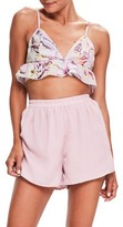 Missguided Women's Tropical Print Crop Camisole
