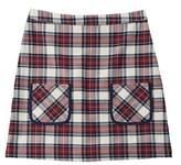 Brooks Brothers Girls' Plaid A-line Skirt.