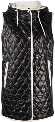 Fay Quilted Hooded Vest