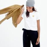 J.Crew PLAY Comme des Garçons® gold heart T-shirt