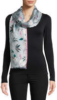 Kate Spade New York Botanical Silk Oblong Scarf