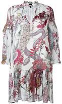 Just Cavalli printed shift dress - women - Viscose - 38