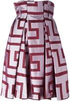 Vivienne Westwood abstract print full skirt