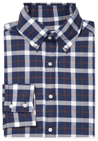 Michael Bastian Checkered Button-Down Dress Shirt