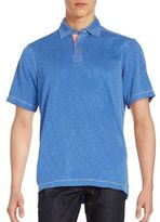 Saks Fifth Avenue Space-Dye Polo Shirt