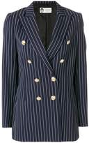 Lanvin double-breasted striped blazer