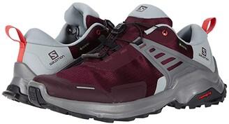 Salomon X Raise GTX(r) (Winetasting/Quarry/Cayenne) Women's Shoes