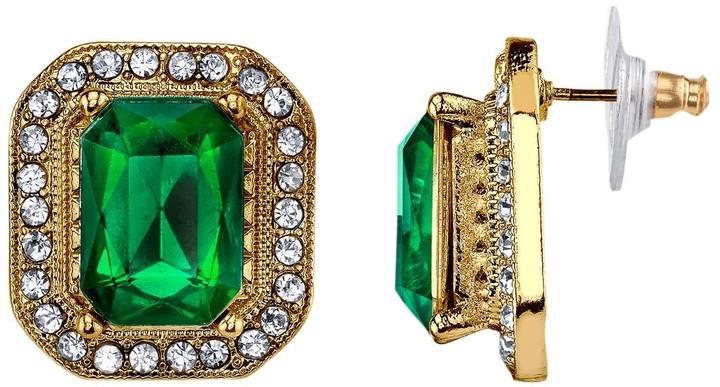 68d5c32fe 1928 Green Earrings on Sale - ShopStyle
