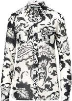 Ralph Lauren Paisley Cotton-Silk Shirt