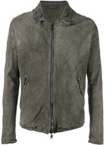 Giorgio Brato leather zipped jacket