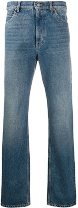 Gucci Faded Straight-Leg Jeans