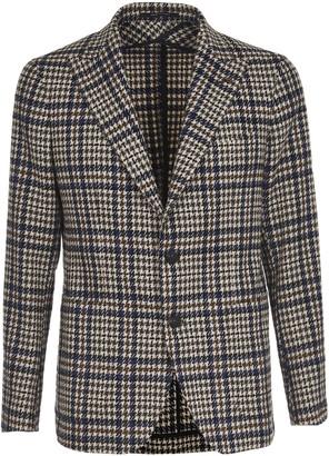 Tagliatore Checked Wool Jacket