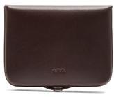 A.P.C. Josh logo-debossed leather wallet