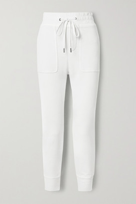 James Perse Lotus Cotton-jersey Track Pants - White