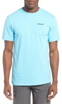 Patagonia Men's Line Regular Fit Logo T-Shirt