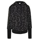 DKNY Printed Hooded Sweatshirt