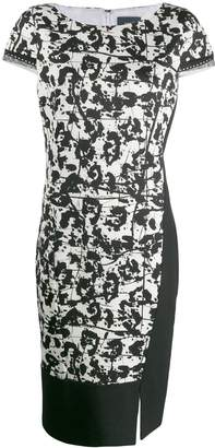 Class Roberto Cavalli printed shift dress