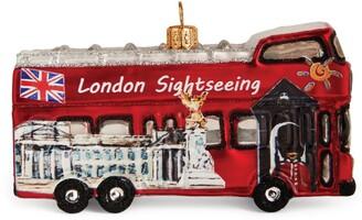 Harrods London Sightseeing Bus Christmas Decoration