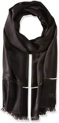 Echo Women's Metallic Edge Silk Evening Wrap