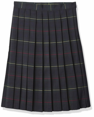 French Toast Women's Below The Knee Pleated Skirt