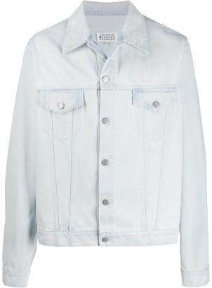Maison Margiela Light-Wash Buttoned Denim Jacket