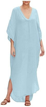 Michael Stars Journey Double Gauze V-Neck Kaftan Dress (Atlas) Women's Dress