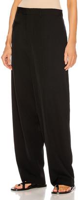 Bottega Veneta Trousers in Nero | FWRD