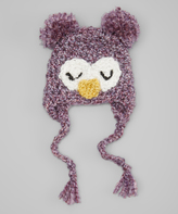 Jean Marie Purple Owl Hat