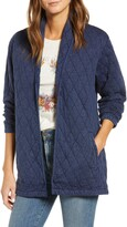 Lucky Brand Quilted Long Jacket