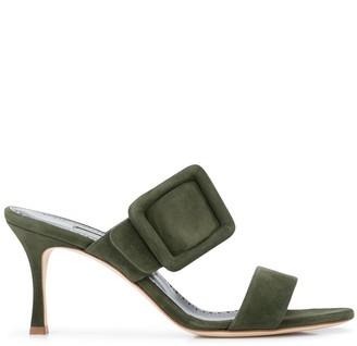 Manolo Blahnik Gable 70mm sandals