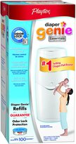 Playtex Diaper Genie II Essentials Diaper Pail System w/100 ct Refill