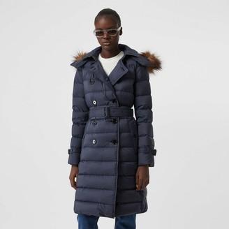 Burberry Detachabe Hood Down-fied Coat