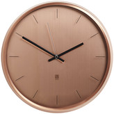 Umbra Meta Wall Clock - Copper
