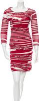 Missoni Printed Knit Dress