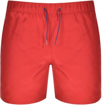 Farah Colbert Swim Shorts Red