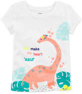 Carter's Dinosaur Cotton T-Shirt, Little & Big Girls