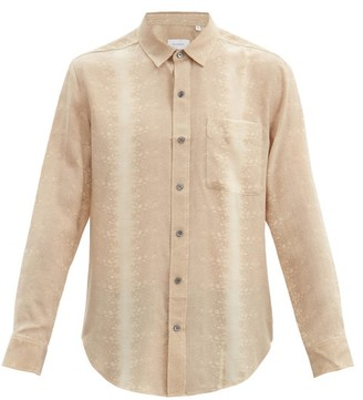 Equipment Snake-print Silk Shirt - Beige