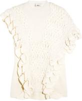 3.1 Phillip Lim Ruffled wool sweater