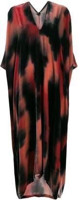 Masnada long patterned dress