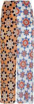 Jonathan Saunders Multi Star Print Chiffon Skirt