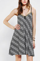 Urban Outfitters Band Of Gypsies Embroidered V-Neck Dress