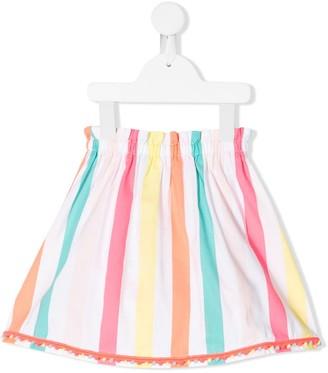 Billieblush Candy Stripe Midi Skirt
