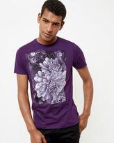 MALVOL Floral graphic cotton Tshirt